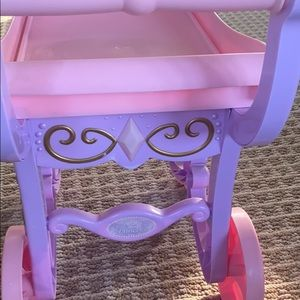 Disney princess tea cart